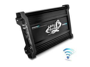 Lanzar HTG258BT 2000 Watt 2 Channel Mosfet Amplifier with Wireless Bluetooth Audio Interface