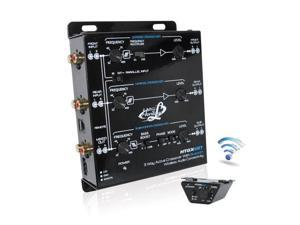 Lanzar HTGX6BT 3 Way Active Crossover With Bluetooth Wireless Audio Connectivity