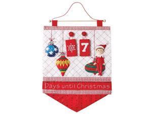 Bucilla Elf on the Shelf Scouts Advent Calendar Felt & Sequin Kit