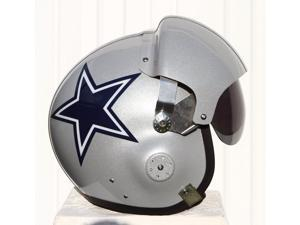 DALLAS COWBOYS FIGHTER PILOT HELMET - FOOTBALL TAILGATING - MOTORCYCLE - S M L XL - USAF AIR FORCE - TONY ROMO