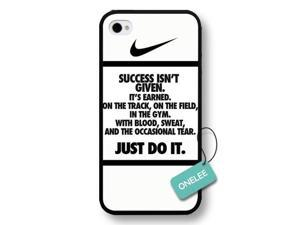 every Damn day iPhone 4/4s case, just do it iPhone 4/4s case, nike logo iphone 4/4s case - Tide Apple iPhone 4s Best Case Cover
