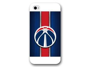 Onelee Customized NBA Series Case for iPhone 4 4S, NBA Team Atlanta Hawks Logo iPhone 4 4S Case, Only Fit for Apple iPhone 4 4S (White Frosted Case)