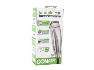 Conair Simple Cut 17-Piece Haircut Kit Grooming System, HC118WGB