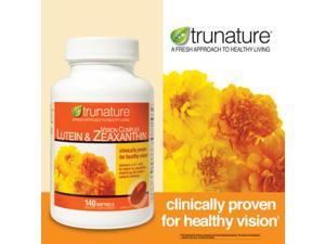 Trunature Vision Complex Lutein 25mg & Zeaxanthin, 140 Softgels