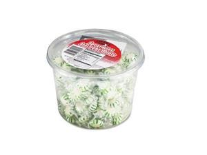 Office Snax Tub of Candy, Spearmint, 2 lb.