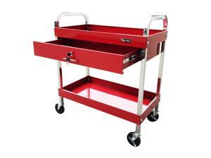 "Excel Red Steel Tool Cart 30"" W x 16"" D x 35.2"" H"