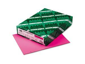Neenah Astrobrights Multi-Purpose Colored Paper,  Color Pulsar Pink Letter, 500 ct.