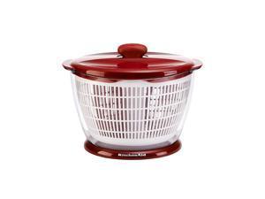 Kitchen Aid Salad Spinner Red