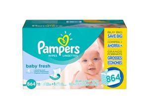 Pampers Baby Fresh Baby Wipes 864 ct.