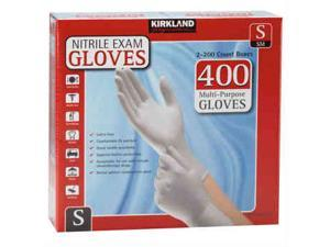 Kirkland Signature Nitrile Exam Gloves 400ct Size Small
