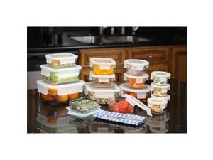 Glasslock Rimless 30-piece Assortment Set