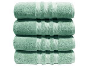 """100% Cotton Luxury Bath Towel 30"""" x 58"""" - Color Light Blue"""