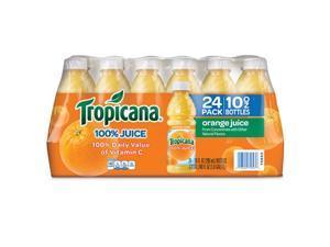 Tropicana 100% Orange Juice - 24/10 oz. bottles