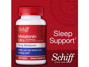Schiff Melatonin Ultra 3mg, 365 Tablets