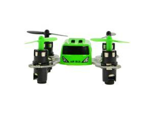 Micro Airbus 2.4Ghz Quadcopter with Full Flip Capability  Color Green
