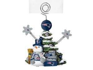 New England Patriots Cast Porcelain Tree Photo Holder
