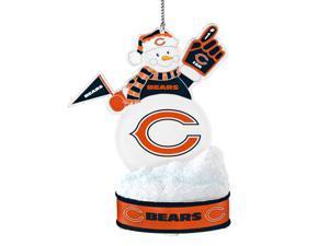 Chicago Bears LED Snowman Ornament