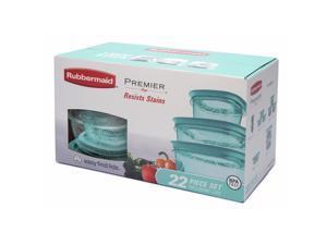 Rubbermaid Premier 22-Piece Storage Set - Aqua