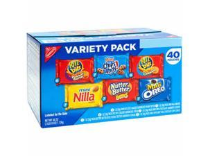 Nabisco Variety Snack Pack 40ct