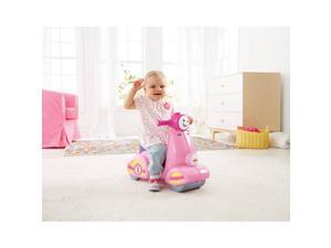 Fisher-Price Laugh and Learn Smart Stages Scooter, Pink