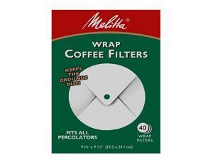 Melitta Wrap Around Coffee Filters 627402 40 ea