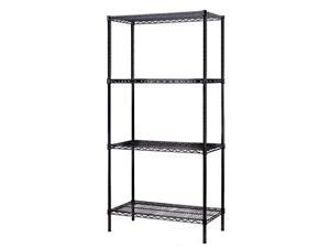 Excel Heavy Duty 4-Tier Wire Shelving,