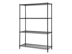 Excel Multi-Purpose 4-Tier Wire Shelving,