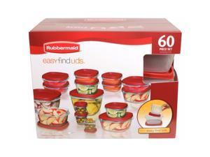 Rubbermaid 60-Piece Easy Find Lids Set