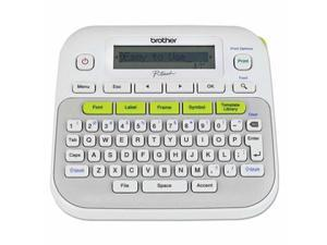 Brother P-Touch PTD210 Easy Compact Label Maker, 2 Lines