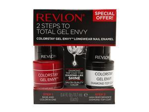 Revlon Gel Envy Nail Kit, 2 pk, Roulette Rush Top Coat 0.8 oz,23.4 ml