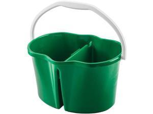 Libman Clean & Rinse Bucket, Green