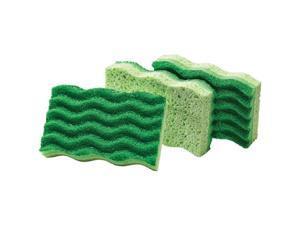 Libman Medium-Duty Sponges, Green, 3 count