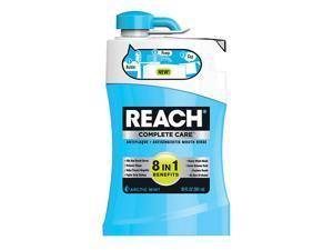 Reach Complete Care 8 In 1 Anti-Plaque Anti-Gingivitis Rinse, Arctic Mint 20 oz 591 ml