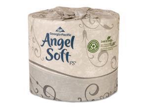 Angel Soft PS - Premium Bathroom Tissue, 2-Ply, 450 Sheets - 80 Rolls