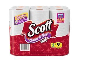 Scott Choose-a-Sheet Mega Roll Paper Towels, 6 rolls