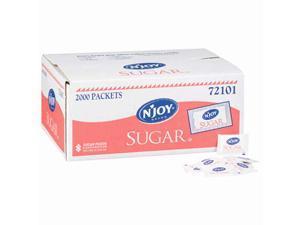 N'JOY - Pure Sugar Packets - 2,000 Count packs of 2