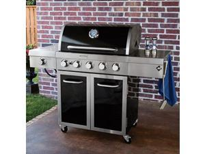 Member's Mark Stainless Steel and Porcelain 5-Burner Gas Grill