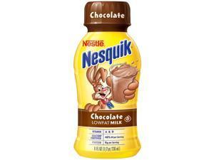 Nestle Nesquik Chocolate Lowfat Milk 8 oz. bottles, 15 pk.
