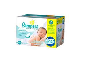 Pampers Sensitive Baby Wipes 1024 ct.