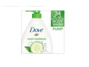 Dove go fresh Cucumber and Green Tea Pump Body Wash, 34 oz