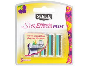 Schick Silk Effects Plus Refill Blades 5 ea