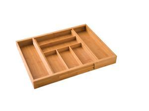 Seville Bamboo Cutlery Drawer Organizer