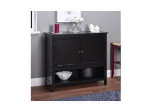 Simple Living Montego Black Wooden Buffet