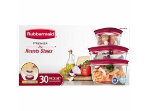 Rubbermaid 30-pc. Premier Food Storage Set