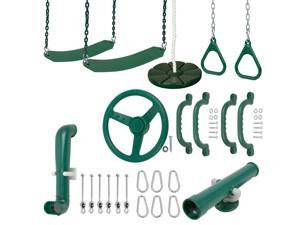 Swing Set Stuff Ultimate Kit (Green) SSS Logo Sticker