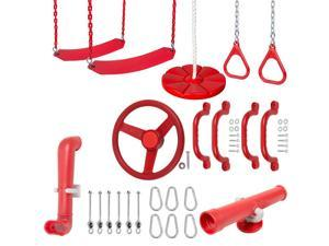 Swing Set Stuff Ultimate Kit (Red) SSS Logo Sticker