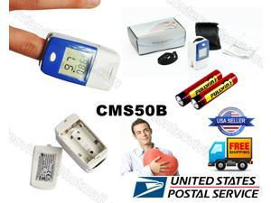 USA!!CONTEC CMS50B LCD Finger Tip Pulse Oximeter,Blood Oxygen Saturation SpO2+Pulse rate heart rate monitor,CE&FDA approved,2-6 days arrival,ship from illinois