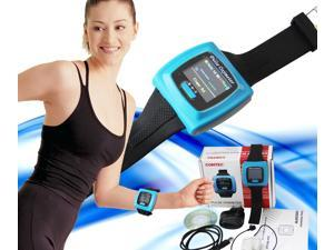 CONTEC FDA Proved Wrist Fingertip Pulse Oximeter, Blood oxygen SpO2 Monitor,PR,heart rate Monitor,CMS50F with PC software,USA Ship fromillinois