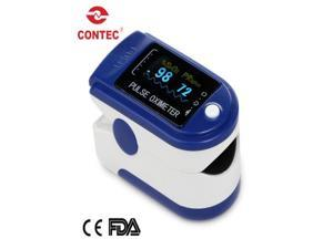 USA Shipping.CONTEC New CMS50D-Blue Fingertip Pulse Oximeter OLED display,Blood oxygen Monitor,SPO2,PR monitor CE&FDA approven