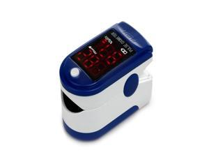 Brand new CMS50DL Pulse Oximeter,fingertip Blood Oxygen monitor,Made by CONTEC!Blue color with carry case